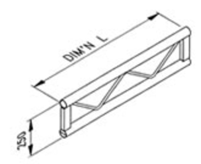 Ladder truss SST series: manufacturer Metalworx