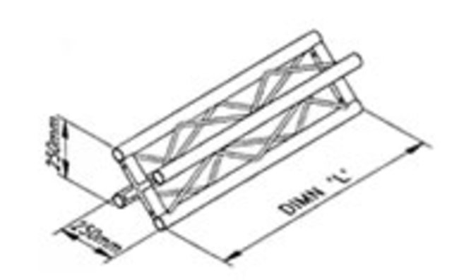 Square Truss Dimensions